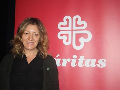 Natalia Peiro, secretaria general de Cáritas: «Hay muchas personas que acuden a Cáritas cuyos padres ya venían»