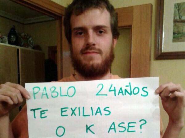 """""""España no es país para jóvenes"""""""