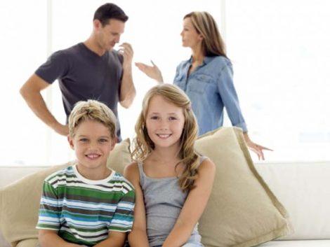 Los niños afrontan mejor que los adultos la separación de sus padres