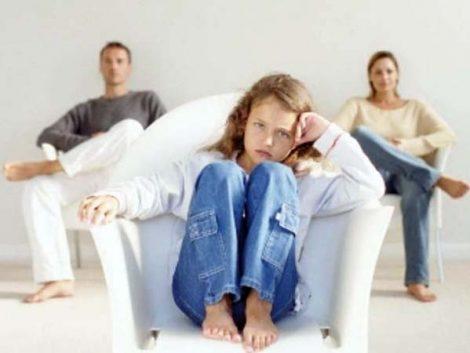 Imponer la custodia compartida con los padres en contra es negativo para el hijo