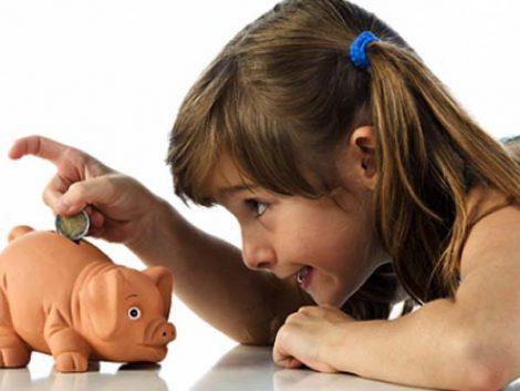 Nunca es demasiado pronto para enseñar a los hijos a ahorrar