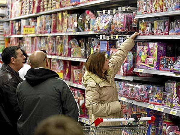 Los padres gastan 182 euros en juguetes al año por cada hijo