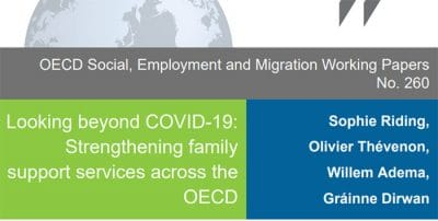 Looking beyond COVID-19. Strengthening family support services across the OECD