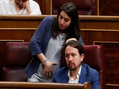 Pablo Iglesias: «Irene me ha cedido la mitad de la baja. Queremos dar ejemplo»