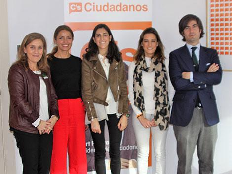 Reunión con Patricia Reyes y Virginia Millán Salmerón