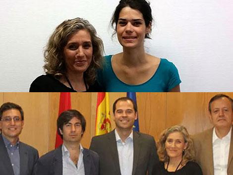 Reuniones de trabajo Asamblea de Madrid con Podemos y Ciudadanos