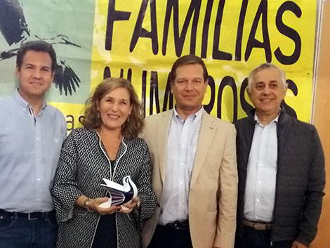 Premio de las Familias numerosas de las Rozas (Madrid)