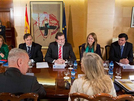 Reunión con el Presidente del Gobierno