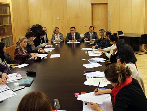 Reunión con el Grupo Parlamentario Socialista en el Congreso de los Diputados
