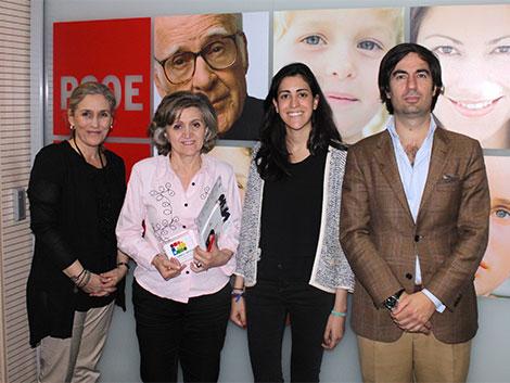 Reunión de trabajo con el PSOE