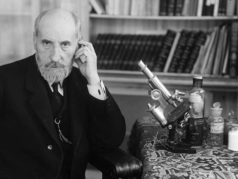 Cuando Ramón y Cajal iba en taparrabos