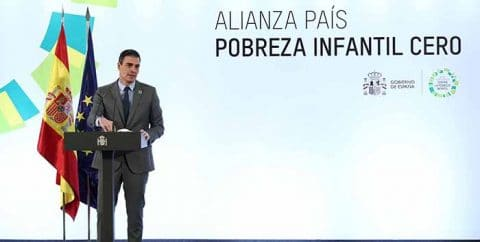 Sánchez: La pobreza infantil es un drama real y tangible, afecta al 27% niños