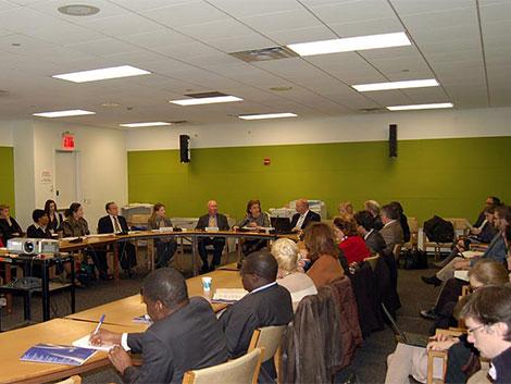 Presentación en NN UU (Nueva York)