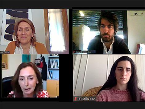 Reunión con Sonia Moncada Bueno,directora general de Familias, Infancia, Educación y Juventud del Ayuntamiento de Madrid