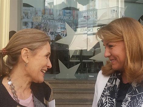 Encuentro con la Secretaria de Estado de Sanidad, Servicios Sociales e Igualdad, Susana Camarero