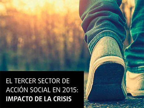 Estudio del Tercer Sector de Acción Social 2015: Impacto de la crisis