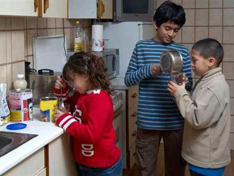 La infancia, principal víctima de la crisis para el 65,9% de los españoles