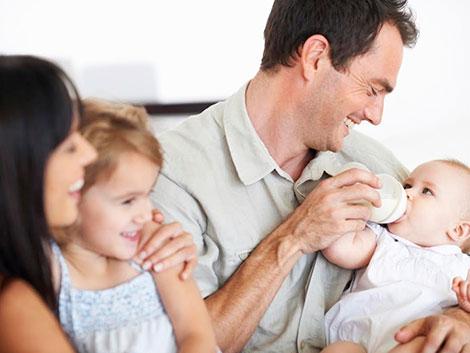 Un 2,47% de trabajadores, con permiso de paternidad