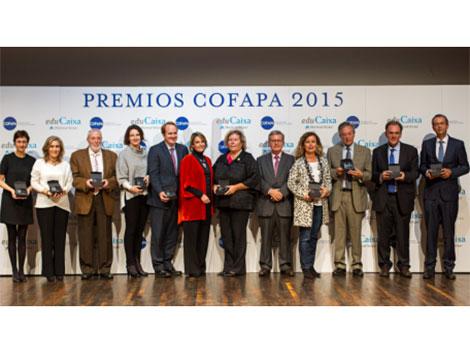 Cofapa premia a once entidades por su ejemplar labor en el ámbito educativo y social