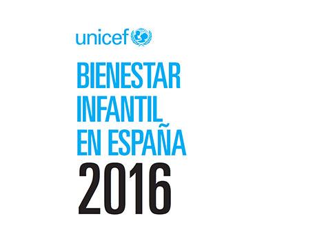 Bienestar infantil en España 2016