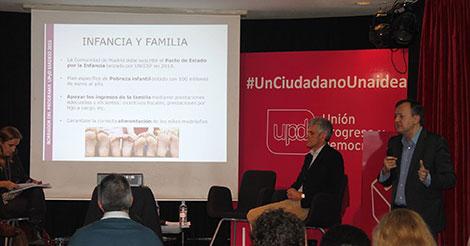 Jornada de Trabajo de Política Social e Igualdad organizada por Unión Progreso y Democracia