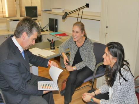 Reunión con Ignacio Cosidó, Presidente de la Comisión Especial de Estudio sobre la Evolución Demográfica en el Senado