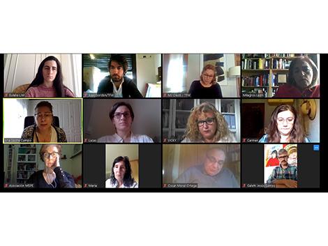 Vídeoreunión con la Dir.Gral. de Infancia, Familias y Natalidad de la Comunidad de Madrid