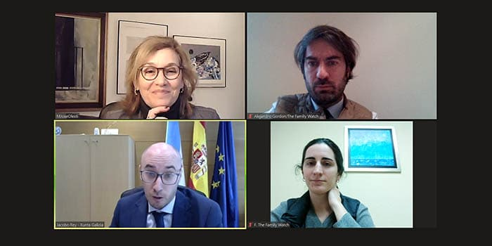 Reunión con el Dir.Gral. de Familia, Infancia y dinamización Demográfica – Xunta de Galicia