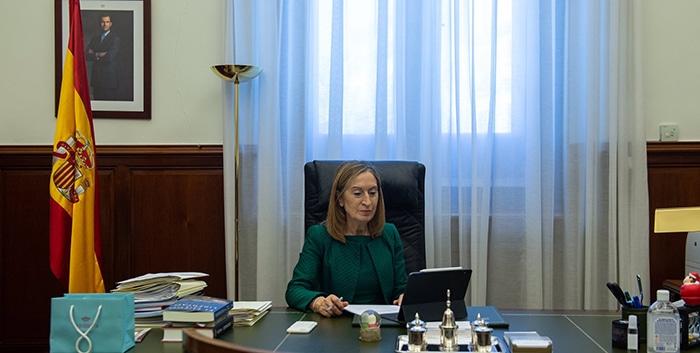 """La vicepresidenta del Congreso Ana Pastor pide incluir la """"perspectiva de familia y de discapacidad"""" en las leyes y políticas públicas"""