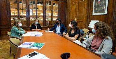 Reunión con la portavoz en la Comisión de Transición Ecológica y Reto Demográfico – Congreso de los Diputados