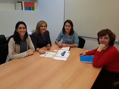 Reunión con Ana Marcello, portavoz de Podemos en la Comisión de Servicios Sociales en el Congreso