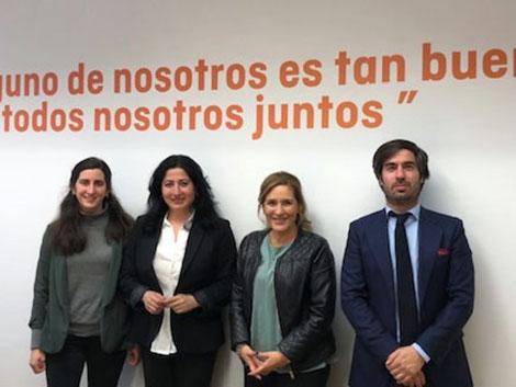 Reunión con Ciudadanos en la Asamblea de Madrid